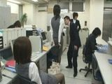 Time Stop In Office and Gangbang Of Japanese Frozen Secretaries