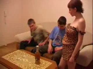Pregnant Russian Women So Horny They Have an Orgy