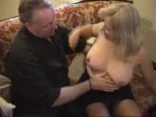 Thick Mature Blonde Wife Fucked in Her Flat