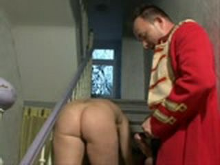 Mature Fucked on The Stairs