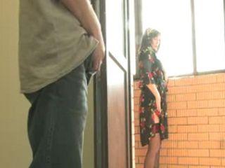 Russian Boy Gone Crazy When Saw Stepmom Masturbating Outdoor