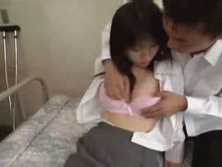Japanese Schoolgirls Caught Their Teacher Fucking School Doctor