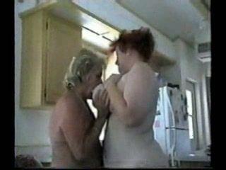 Homemade 2 Granny Lesbians Then Two Grandpa Fuck Them