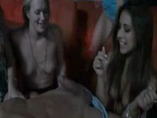 Girls Show Off BJ Skills at Party