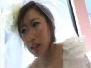 Busty Asian Gets Pounded on her Wedding Day