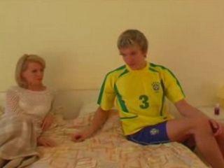 Russian Football Player Fucked Mature Mom