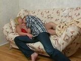 Russian Red Lingerie Mom Have Younger BF