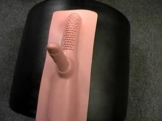 Blonde Fucks A Sybian Machine Hard