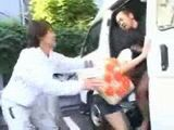 Kidnapped Girl Gets  Fucked In a Van