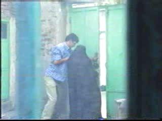 Arab Guys Tag Team Poor Arab Girl