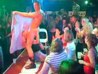 Stripper Enjoy with Crazy Girl on Sex Party