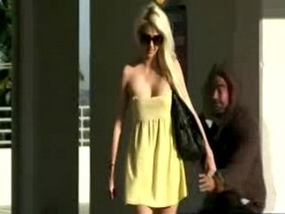 Blondie Gets Her Dress Ripped Off