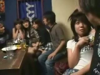 Terrified Japanese Girls Fucked In Bar By Local Gang - Fuck Fantasy