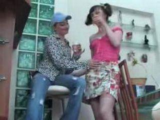 Lesbians Rita & Rosalie