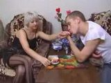 Russian Mature and Young Sex