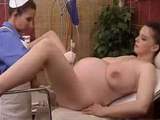 Jane Pregnant In Gyno Exam xLx