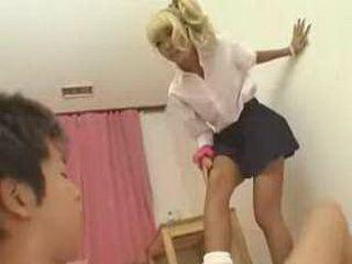 Japan Teens make love in room