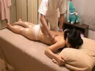 Studentgirl at massage parlor Voyeur