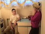 Russian mom is fucked by her stepson