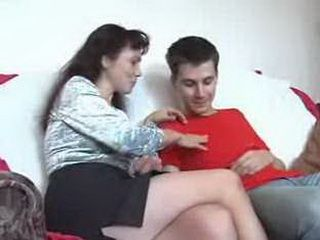 Russian mature mom alena giving ass to a younger boy xLx