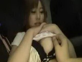 Japanese Hot Girl Having Sex In The Van