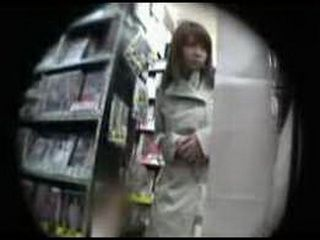 Japanese Girl Molested At The Supermarket By Stranger