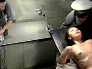Japanese Girl Tortured At Police Station With Electric AShock