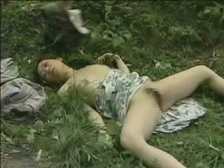 Dirty Old Bastard Fucked Helpless Japanese Girl Founded On The Field - Fuck Fantasy