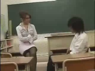 Japanese School Teacher - AV Idol - Yuna Takizawa