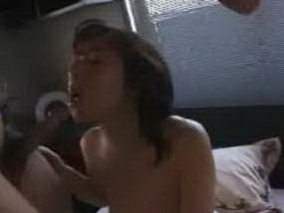 Japanese babe gets rammed