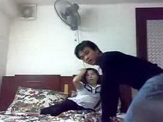 Guy Hides His Camera And Secretly Taped Hot Japanese Girl In His Bed