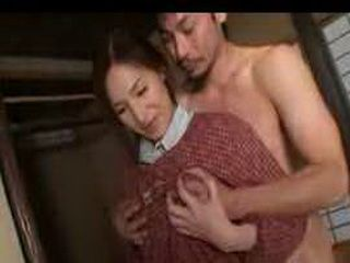 Japanese Traditional Woman Obeys The Husbands Rules