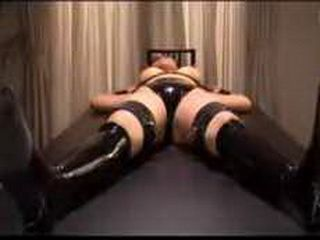Japanese Woman Roped, Mouth Taped And Totally Violated