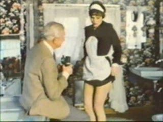Grandpa Abuse His Maid - Retro Porn