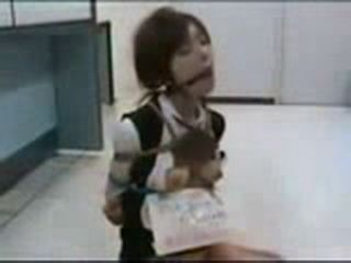 Japanese Girl Roped And  Molested