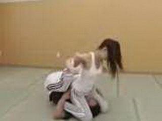 Japanese Girl Gone Far With Her Karate Teacher