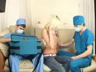 Fake Doctors Perverting  Girl While She Is In Anesthesia Sleep