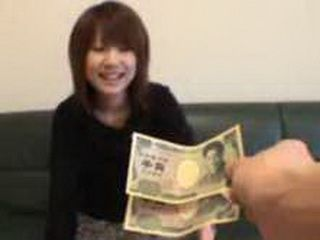 Japanese Girl Didn't Expect Tjhat She Will Earn Some Money Today