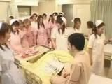 Japanese Nurses In Morning Visit Violate Confused Patient