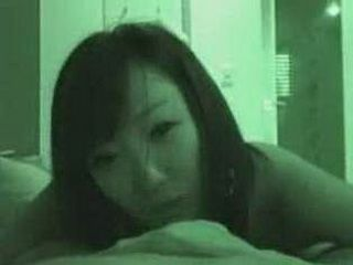 Japanese Horny Girl Taped While Doing An Oral Sex