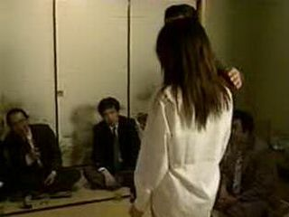 Japanese Lady Molested And Forced On Sex While Others Were Watching