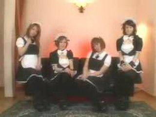 All Maids Came In The Living Room To Wank Guys Dick