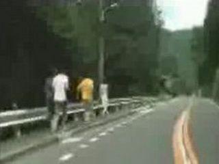 Japanese amateur sharking