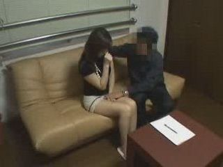 Japanese Girl Came To Have A Job Interview And Not Sex