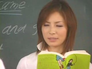 Japanese Teacher Reward Well One Of Her Students For Correct Answer