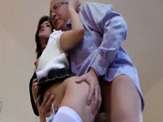 Young slut masturbates and sucks