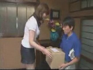 video Hot mailman on girl fucks