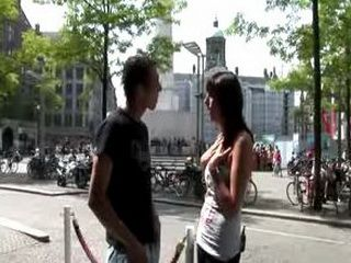 Tourist guided in Amsterdam