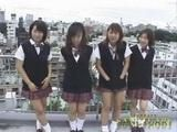 Fun With Japanese Schoolgirls On The Roof