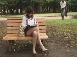 What Japanese Lady Is Doing Alone In The Park